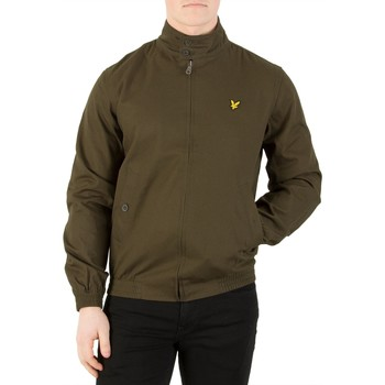 Vêtements Homme Vestes Lyle & Scott Homme Harrington Veste, Vert vert