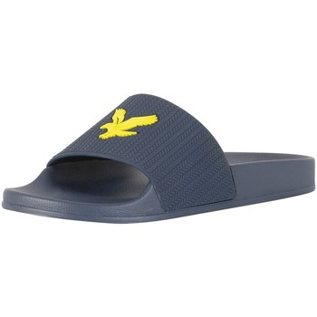Chaussures Homme Tongs Lyle & Scott Homme Thomson Tongs, Bleu bleu