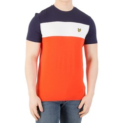 Vêtements Homme T-shirts manches courtes Lyle & Scott Homme Casuals - T-shirt rayé à rayures, Multicolore multicolore