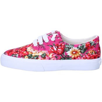 Chaussures Fille Baskets basses Lelli Kelly sneakers rose fucsia textile AG670 rose