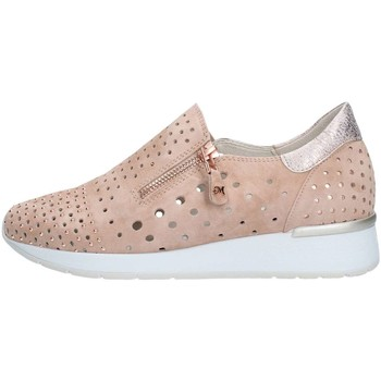 Chaussures Femme Baskets basses Melluso R20022 Basket Femme Nude Nude