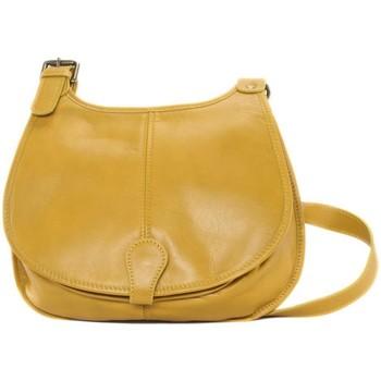 Sacs Femme Sacs Bandoulière Oh My Bag Sac à Main CUIR souple femme - Modèle M jaune JAUNE