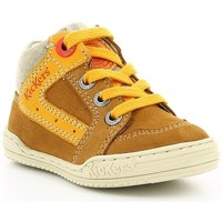 Chaussures Enfant Baskets montantes Kickers JARGON BB Camel