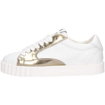 Chaussures Femme Baskets basses OXS 9s3690d Sneakers Femme Blanc / or Blanc / or