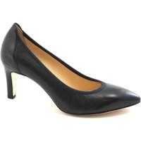 Chaussures Femme Escarpins Melluso femme D078E nuit cuir stretch dcollet chaussures pointues Blu