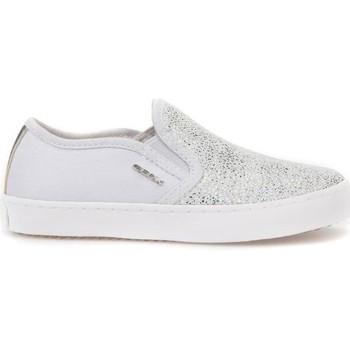 Chaussures Enfant Slip ons Geox JR Kilwi Girl Gris