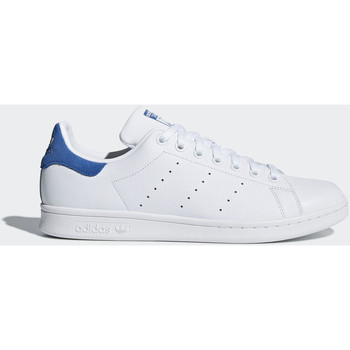 Chaussures Homme Baskets basses adidas Originals Chaussure Stan Smith Blanc / Blanc