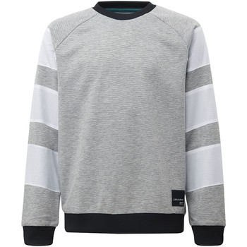 Vêtements Garçon Sweats adidas Originals Sweat-shirt EQT Crew Gris / Noir