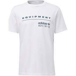 Vêtements Homme T-shirts manches courtes adidas Originals T-shirt EQT PDX Classic Blanc