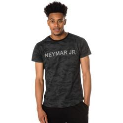 Vêtements Homme T-shirts manches courtes Paris Saint-germain T-SHIRT D NAHIL NOIR NEYMAR Noir