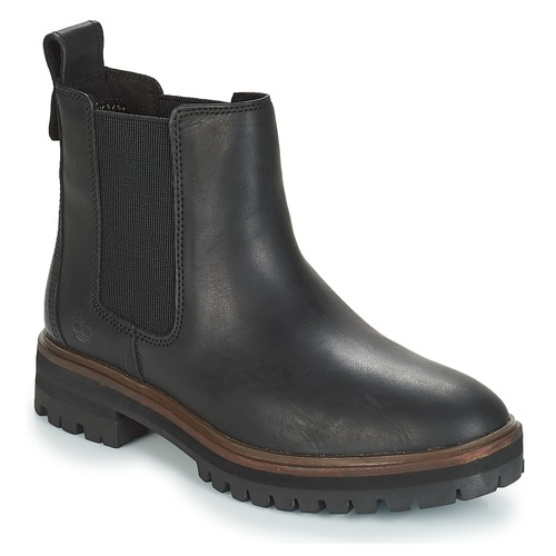 Chaussures Femme Boots Timberland London Square Chelsea Noir