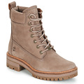Chaussures Femme Boots Timberland Courmayeur Valley YBoot Taupe