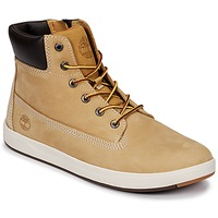 Chaussures Enfant Baskets montantes Timberland Davis Square 6 Inch Boot Wheat Naturebuck