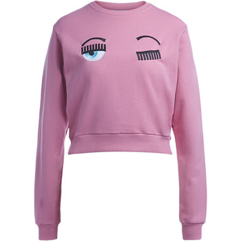 Vêtements Femme Sweats Chiara Ferragni Sweat Chiara Ferragni Flirting Eyes rose Rose