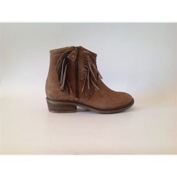 Chaussures Fille Boots Reqins bampa Marron