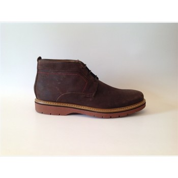 Chaussures Homme Boots Clarks newkirk top Marron