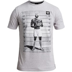 Vêtements Homme T-shirts manches courtes Rugby Division T-shirt TMC UNDER ARREST Gris chiné