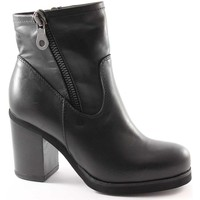Chaussures Femme Bottines Jhon Grace JHO-1732X2-NE Nero