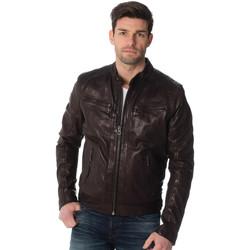 Vêtements Homme Vestes en cuir / synthétiques Daytona 73 EMERSON LAMB CASTEL BROWN Marron