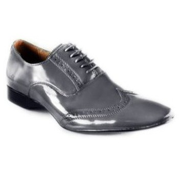 Chaussures Homme Derbies Kebello Chaussure Mike Vernis gris