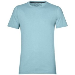 Vêtements Homme T-shirts manches courtes Asics SS Top Bleu