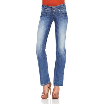 Vêtements Femme Jeans bootcut Salsa WONDER PUSH UP STRAIGHT Bleu