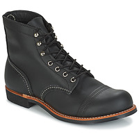 Chaussures Homme Boots Red Wing IRON RANGER Noir