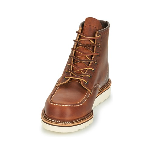 Marron Red Boots Classic Wing Homme H9D2EI