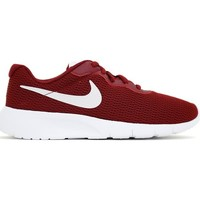 Chaussures Femme Baskets basses Nike TANJUN GS rouge