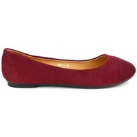 Chaussures Femme Ballerines / babies Cendriyon Ballerines Bordeaux Chaussures Femme Bordeaux