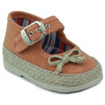 Chaussures Enfant Baskets basses Vulladi CANVAS ORANGE