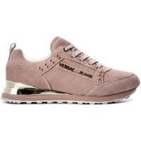 Chaussures Femme Baskets basses Versace e0vrbsd2 rose