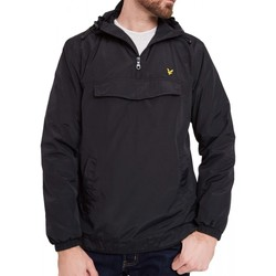 Vêtements Homme Blousons Lyle & Scott Blouson Through Hooded  Zip Noir Noir
