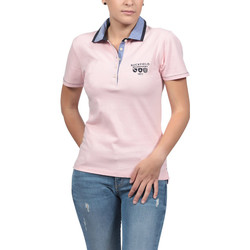 Vêtements Femme Polos manches courtes Ruckfield Polo Femme We are Rugby Rose Rose
