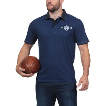 Vêtements Homme Polos manches courtes Ruckfield Polo bleu marine We Are Rugby Bleu