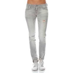 Vêtements Femme Jeans skinny Meltin'pot MALVA Gris