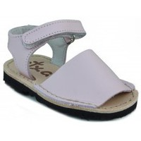 Chaussures Enfant Sandales et Nu-pieds Arantxa Menorquinas enfants faits à la main ROSE