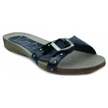 Chaussures Femme Sandales et Nu-pieds Vienty BIO CHAROL NOIR
