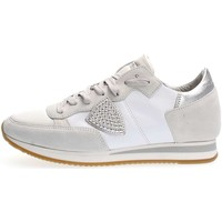 Chaussures Femme Baskets basses Philippe Model Paris TRLD SD01 TROPEZ LOW SNEAKERS Femme WHITE WHITE