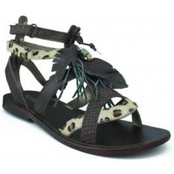 Chaussures Fille Sandales et Nu-pieds Oca Loca OCA APRP fille sandale pierres blanches BRUN