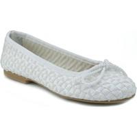 Chaussures Femme Ballerines / babies Oca Loca OCA LOCA RAFIA BLANC