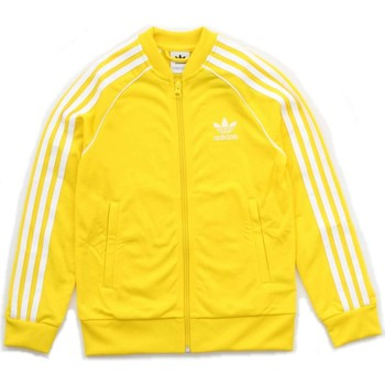 Vêtements Enfant Vestes de survêtement adidas Originals CF8552 Sweat-shirts Enfant Jaune Jaune