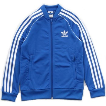 Vêtements Enfant Vestes de survêtement adidas Originals CF8553 Sweat-shirts Enfant Bleu Royal Bleu Royal