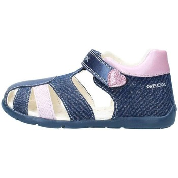 Chaussures Fille Sandales et Nu-pieds Geox B8251F9ZNF Sandales Fille Avio / Pink Avio / Pink
