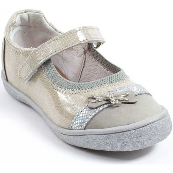 Chaussures Fille Ballerines / babies Le Loup Blanc Ballerines  Fille beige beige