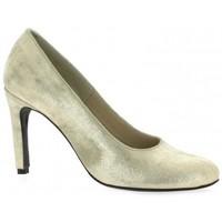 Chaussures Femme Escarpins Pao Escarpins cuir laminé Or
