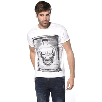 Vêtements Homme T-shirts manches courtes Deeluxe T-shirt Crystal blanc