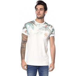 Vêtements Homme T-shirts & Polos Deeluxe T-shirt Palmito blanccasse