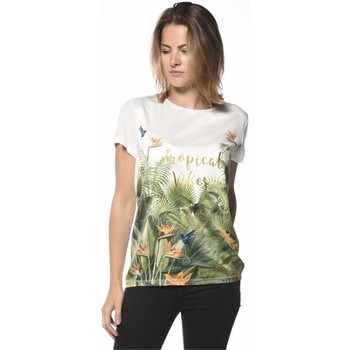 Vêtements Femme T-shirts & Polos Deeluxe T-shirt Jingle blanc