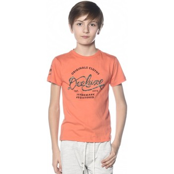 Vêtements Garçon T-shirts & Polos Deeluxe T-shirt Camy orange
